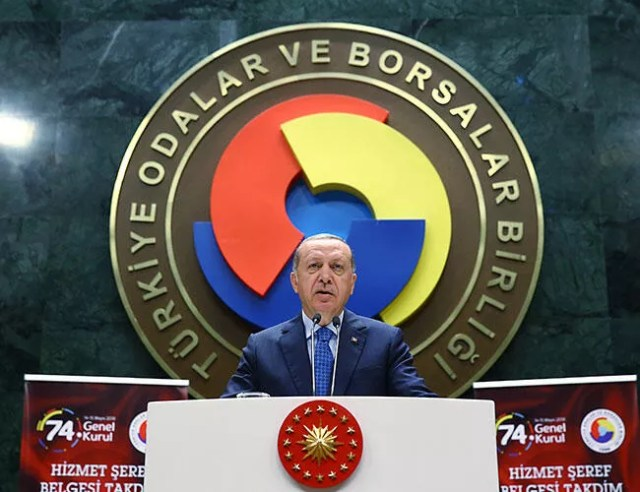 Erdoğan again blasts interest rates as 'the mother of all evil'