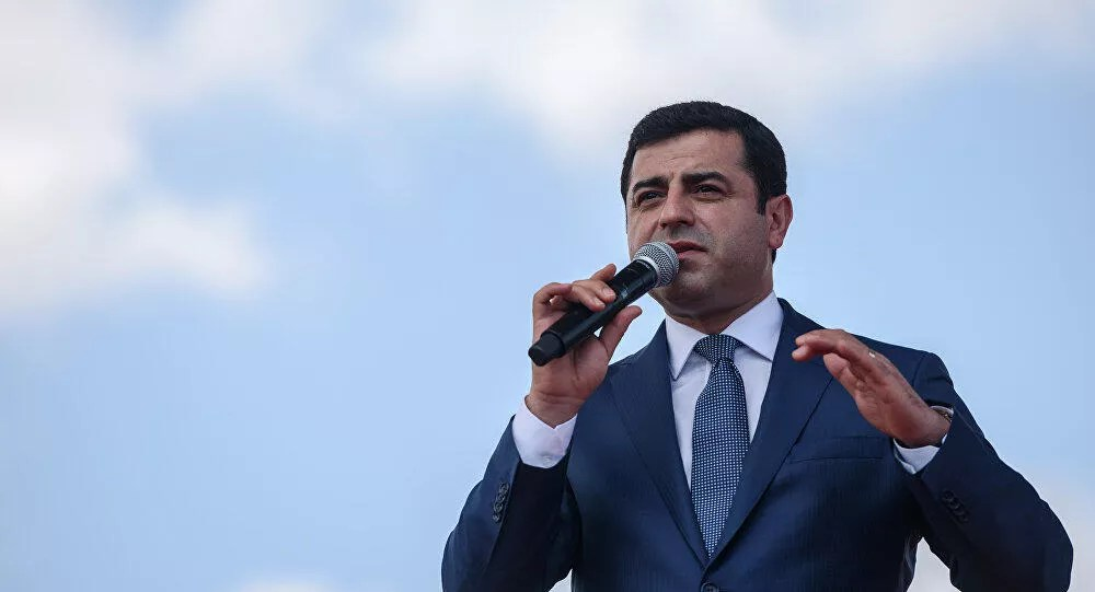 Turkish court rejects appeal for release of HDP's jailed presidential candidate Demirtaş