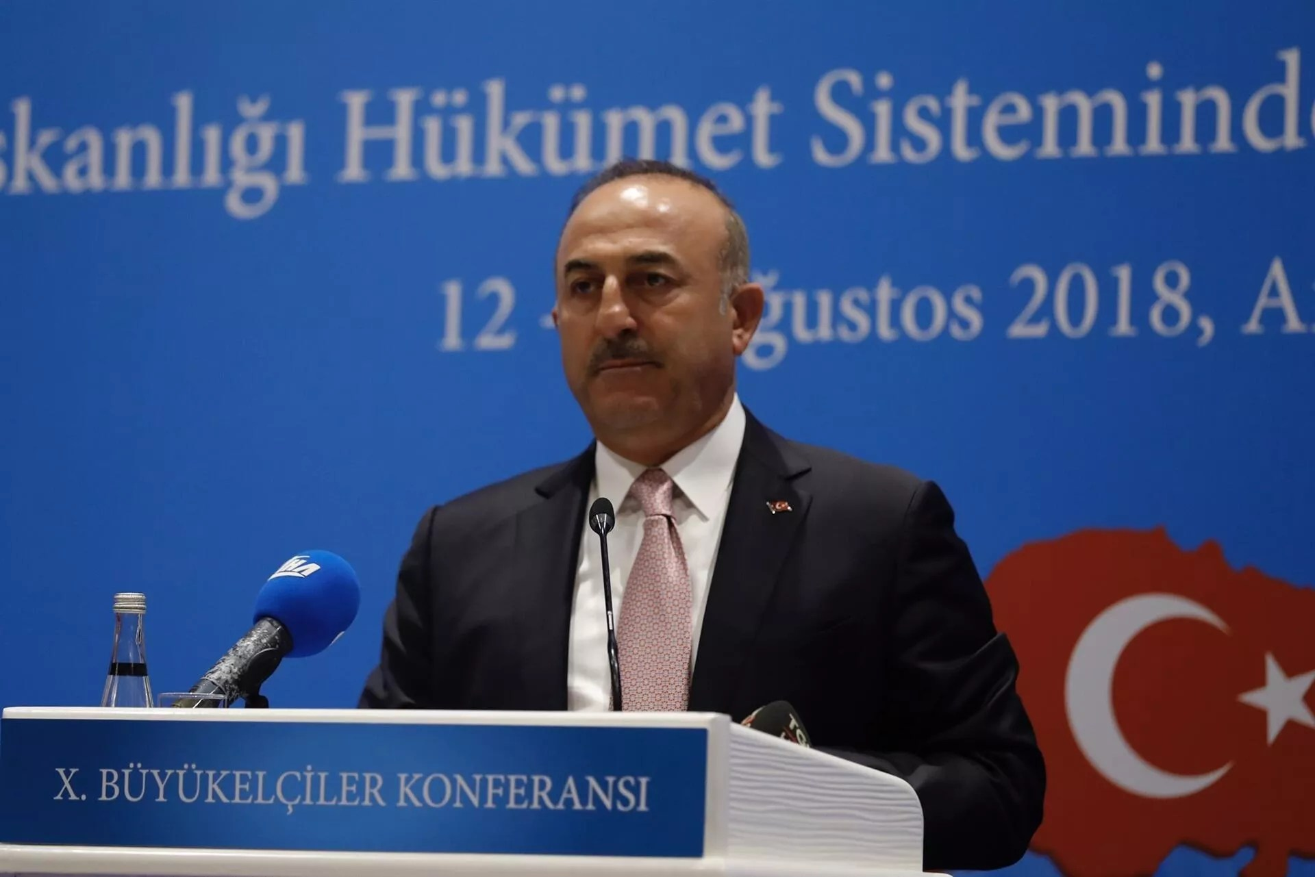 Turkey's frustration is bigger than US: Foreign minister