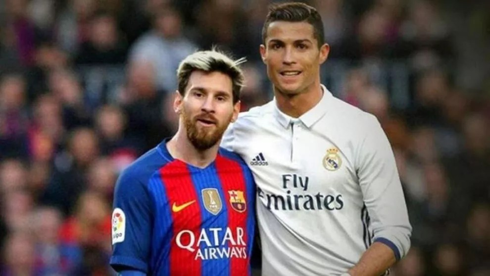 Image result for messi cristiano