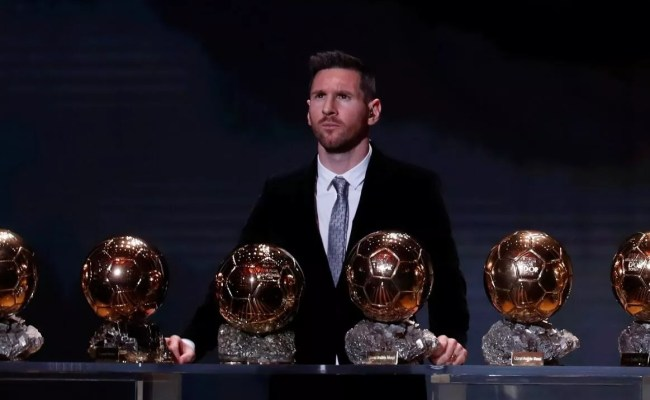 Lionel Messi Wins Ballon D Or For Sixth Time Turkish News