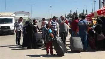 Bayram ziyaretinden dönen Suriyeli sayısı 13 bini aştı