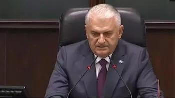 Başbakan Yıldırım 'helallik' istedi