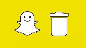 Snapchat hesabı silme