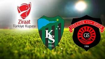 Kocaelispor Gölcükspor maçı ne zaman saat kaçta ve hangi kanalda?
