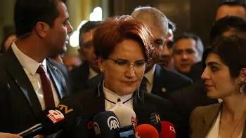 Akşener'den CHP ile ittifak açıklaması