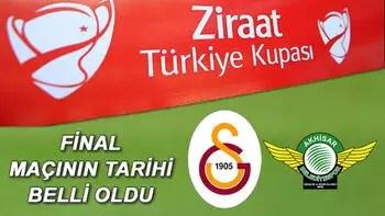 Ziraat Türkiye Kupası finali ne zaman, nerede yapılacak? 2