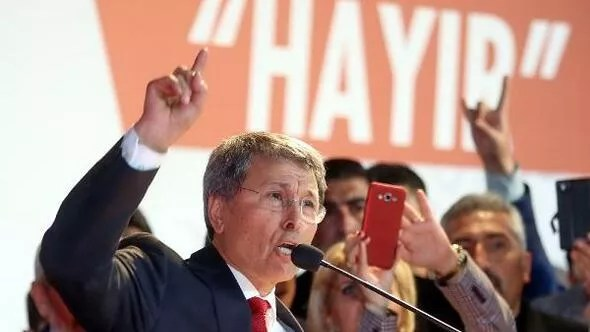 MHPli muhalifler hayır kampanyası için Ankarada bir araya geldi (2)