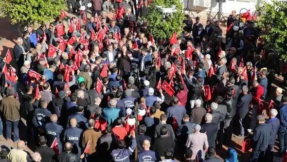 Antalyada Kudüs tepkisi