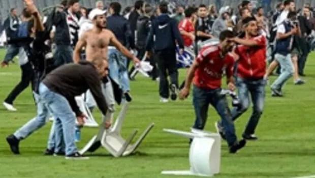 Pfdk Olaylı Derbinin Cezalarını Belirledi  Spor Haberleri