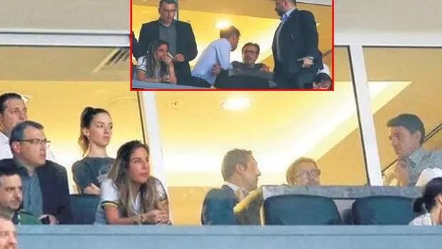 Görüntüler ortaya çıktı Aleksandr Kolarov ve Fenerbahçe...