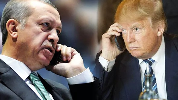trump erdoğan telefonda ile ilgili görsel sonucu