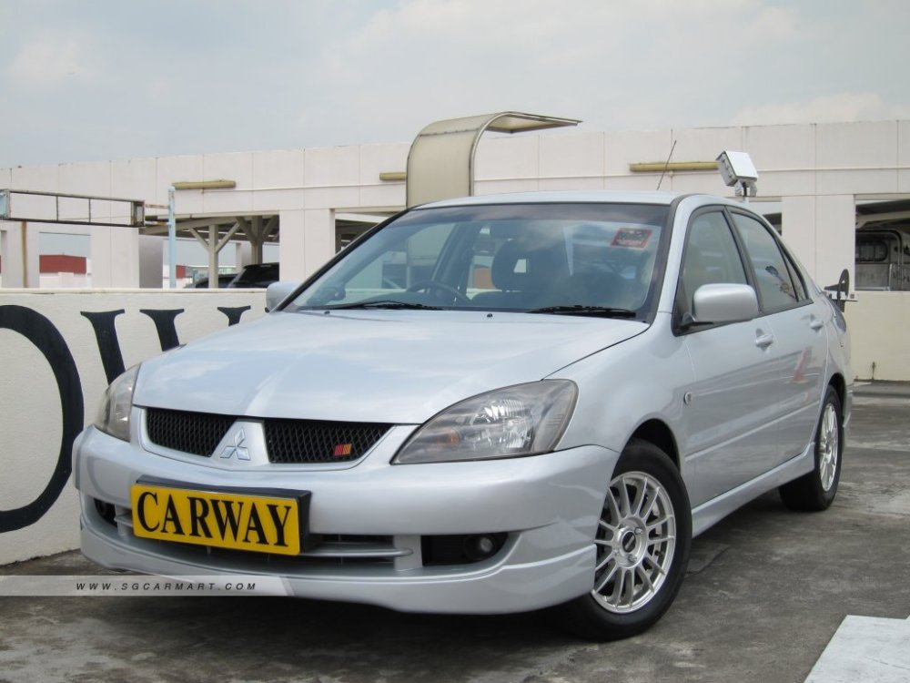 medium resolution of 2007 mitsubishi lancer 1 6a glx sports coe till 05 2022 photos pictures singapore stcars