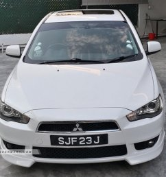 2008 mitsubishi lancer ex 2 0a gt sunroof coe till 05 2023 photos pictures singapore stcars [ 1024 x 768 Pixel ]