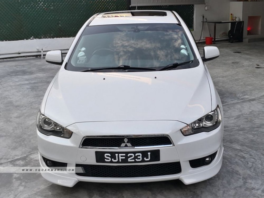 medium resolution of 2008 mitsubishi lancer ex 2 0a gt sunroof coe till 05 2023 photos pictures singapore stcars