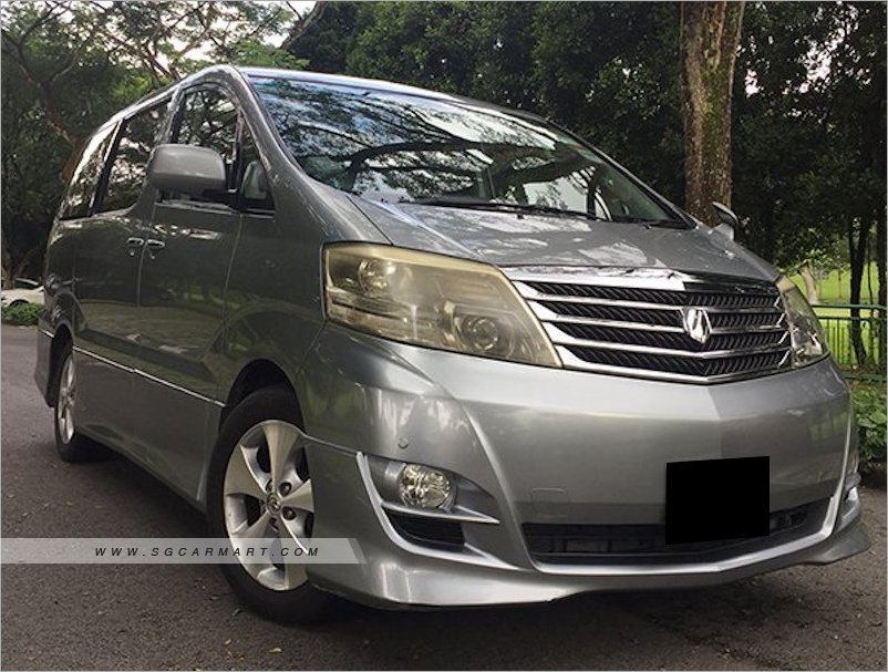 all new alphard 2021 roof rail grand avanza veloz 2006 toyota 3 0a coe till 05 photos pictures