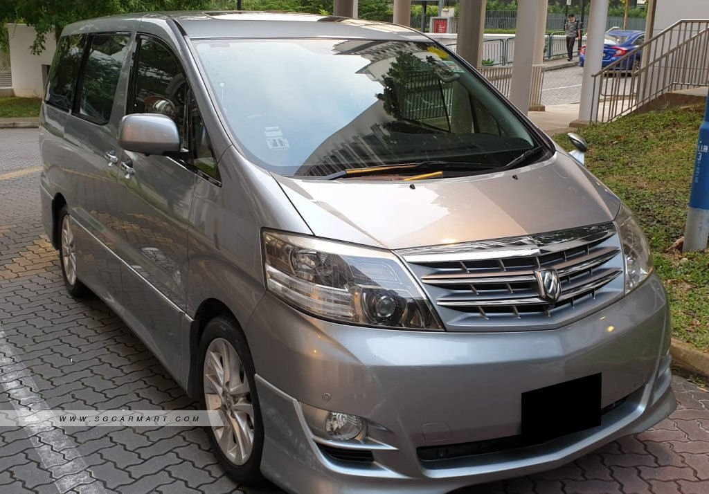 all new alphard 2021 harga yaris trd sportivo 2006 toyota 2 4a moonroof coe till 12 photos pictures singapore sgcarmart