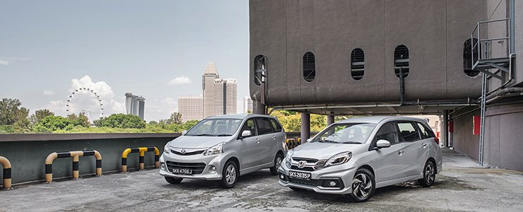 grand new veloz 1.5 vs mobilio rs footstep avanza comparison honda 1 5 i vtec luxe a toyota