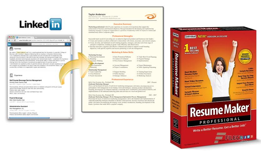 resume maker pro 17 review
