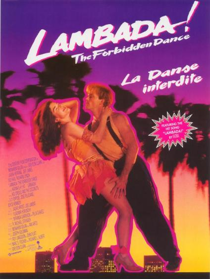 The Forbidden Dance 1990 English 720p HDRip 900MB