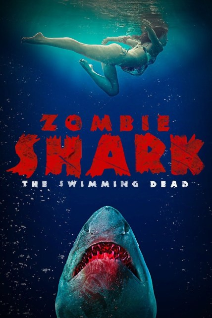 Zombie Shark 2015 Hindi Dual Audio 720p UNRATED BluRay ESub 850MB | 300MB Download