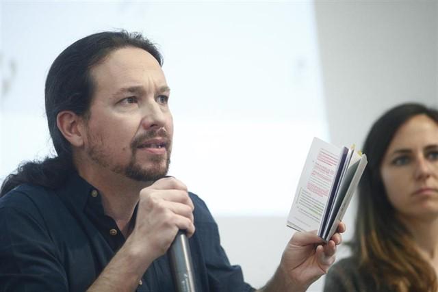 """Pablo Iglesias anunciará en Zaragoza la creación de una unidad especial para desmantelar """"las cloacas del Estado"""""""