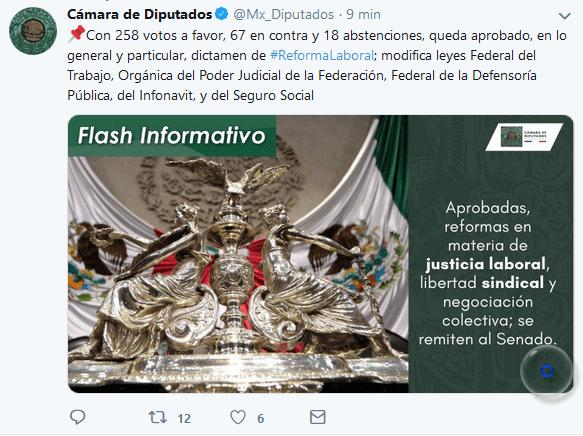 la #ReformaLaboral
