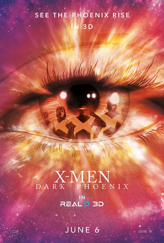 X-Men-Dark-Phoenix-Real-D-Poster