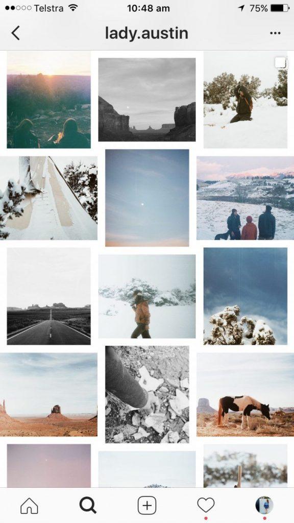 feed instagram profile keren