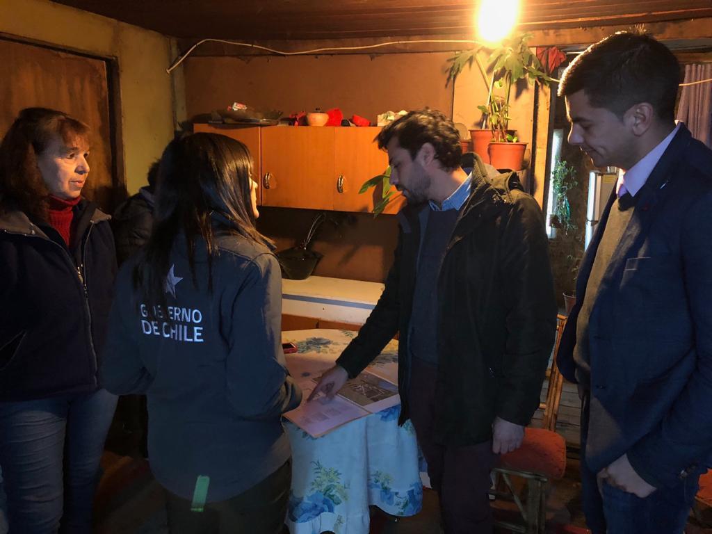 Más de 20 millones en soluciones habitacionales para familias vulnerables de San Fabián.