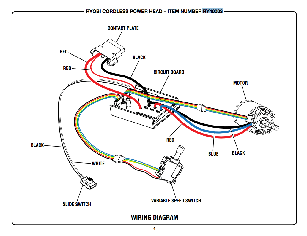 hight resolution of reversing direction of battery string trimmer the lawn forumi couldnt find a wiring diagram for any