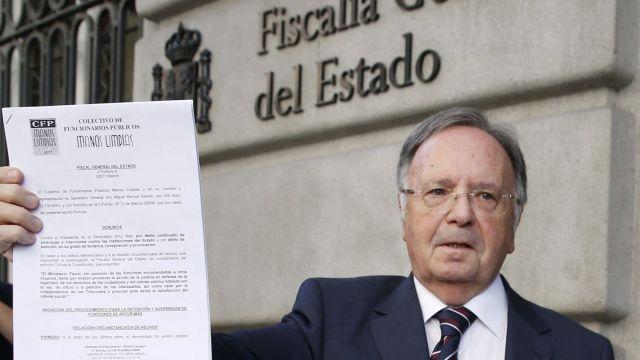 La Audiencia Nacional pode 250 años y medio de cárcel para el secretario general de Manos Limpias