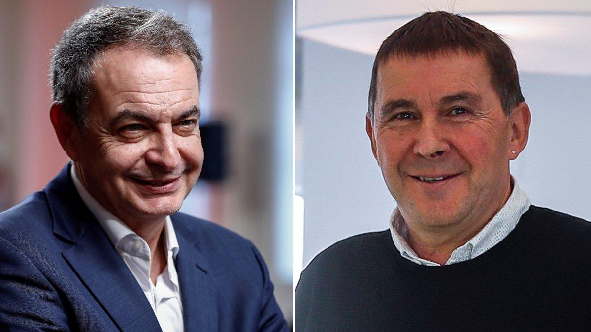 Zapatero sobre Otegi: «Es un hecho objetivo, su contribución fue decisiva en el cese de la actividad armada»