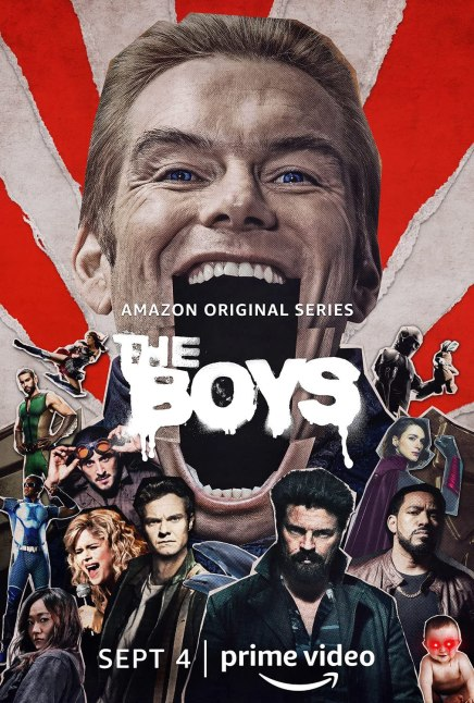 The Boys 2019 S01 Hindi Complete AMZN Web Series 720p HDRip 3.1GB | 1.4GB Download