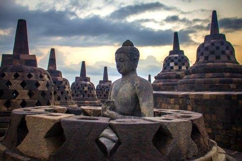 Buddha di Borobudur