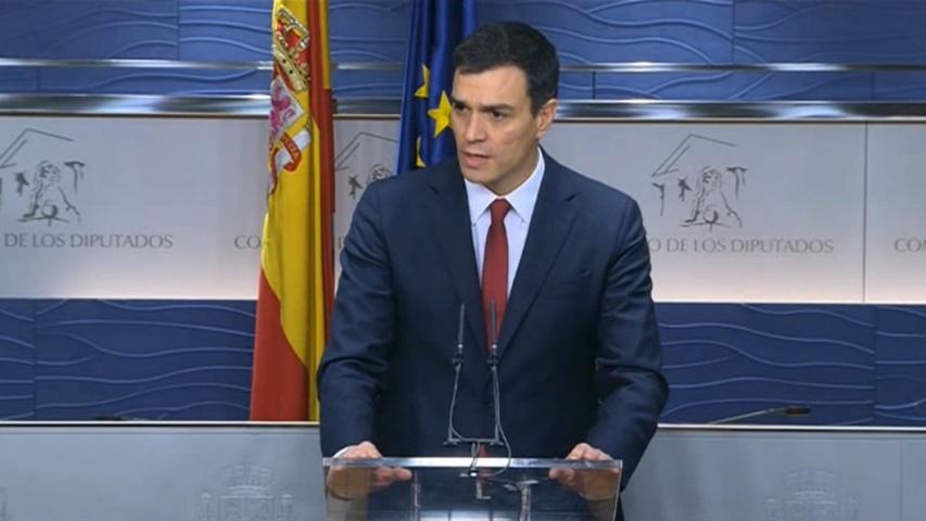 Vídeo | Pedro Sánchez se queda sin palabras tras ser preguntado sobre si dimitirá si no logra formar Gobierno