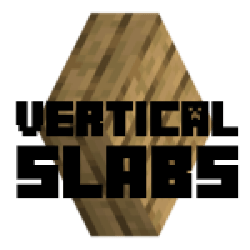 vertical slabs fabric minecraft mod adds title which says