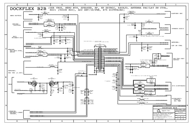 Iphone 5 Schematic Diagram