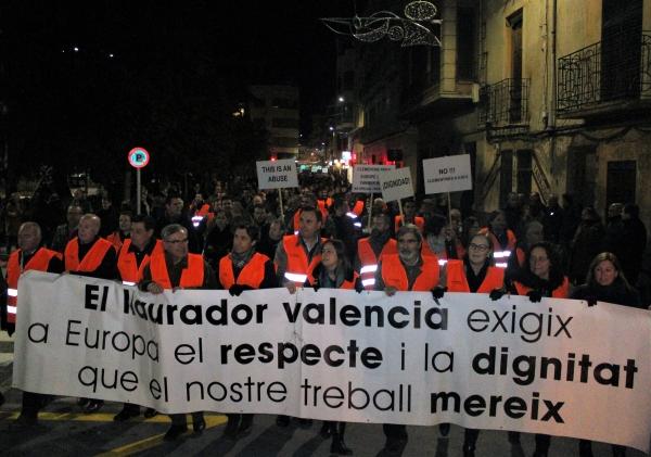 Labradores del País Valenciano se movilizan ante la crisis del sector citrícola