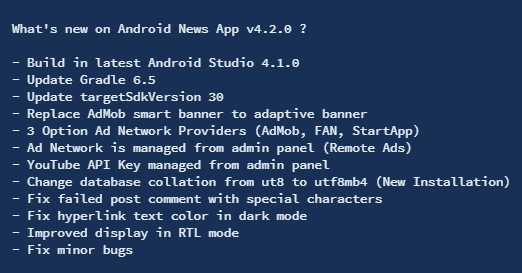 Android News App - 2