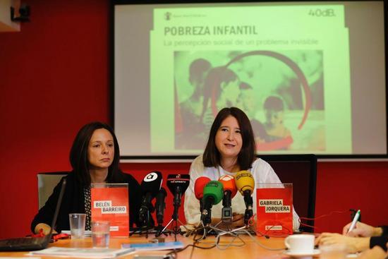 Encuesta de Save the Children: Ocho de cada diez españoles piensa que la pobreza infantil debe convertirse en una prioridad para el futuro Gobierno
