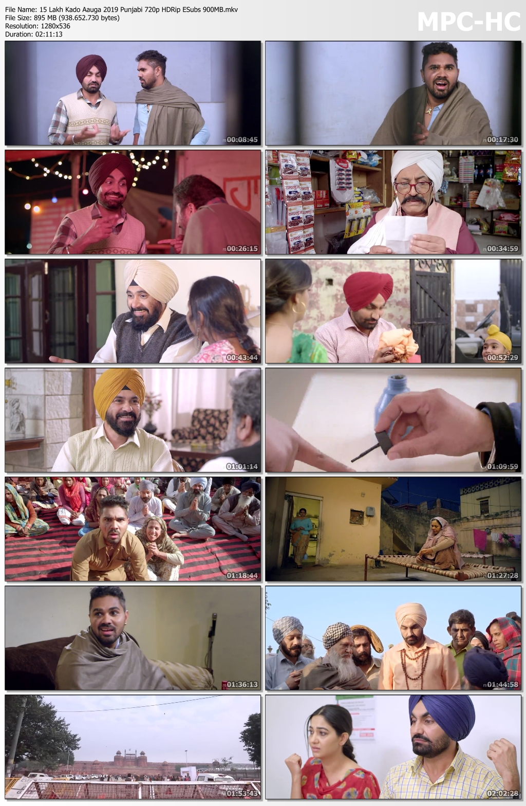 15-Lakh-Kado-Aauga-2019-Punjabi-720p-HDRip-ESubs-900-MB-mkv-thumbs