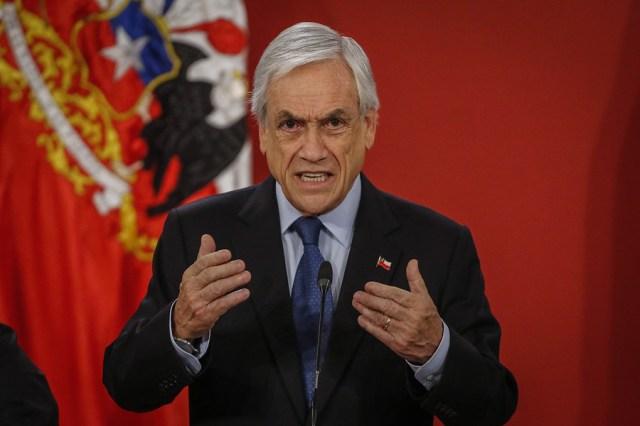 La desaprobación de Piñera alcanza ya el 82 por ciento en Chile, pero sigue agarrado al cargo