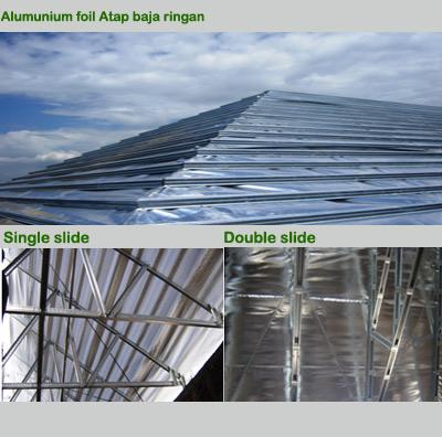 aluminium foil pada baja ringan blog rainbow group roof fungsi