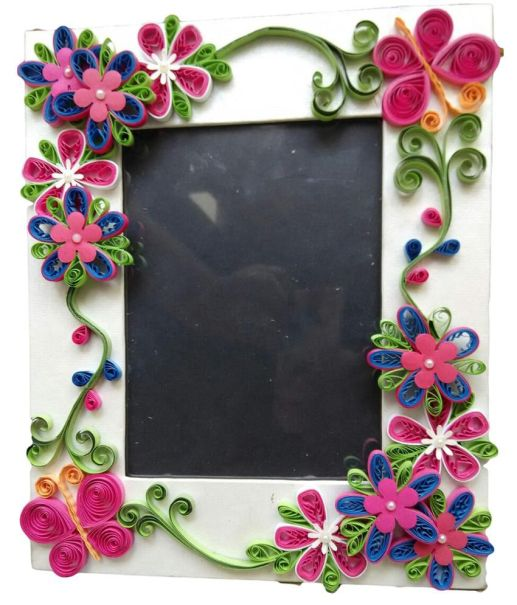 Photo Frame Quilling Ideas
