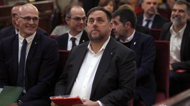 Durísima pena: el Supremo condena a 13 años de prisión a Junqueras, a 11 años y medio a Forcadell y a 9 a los 'Jordis'