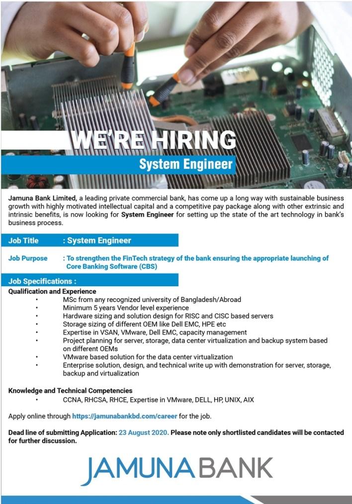 Jamuna-Bank-System-Engineer-Job-Circular-2020