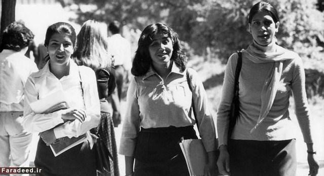 Mahasiswi di Afghanistan pada sekitar tahun 80-an
