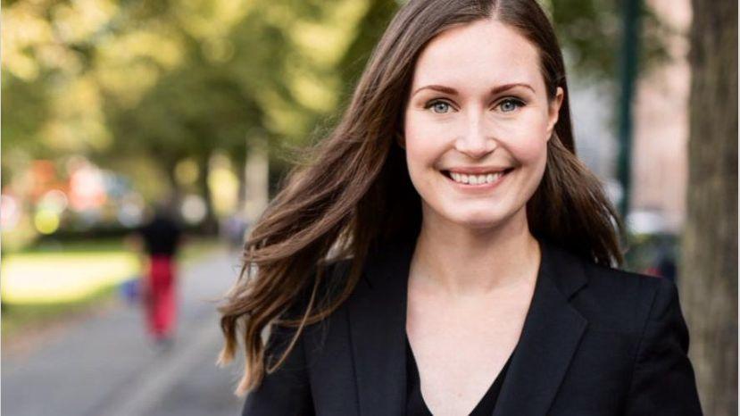 Sanna Marin es la primera ministra más joven de la historia de Finlandia tras la coalición de 5 partidos dirigidos por mujeres
