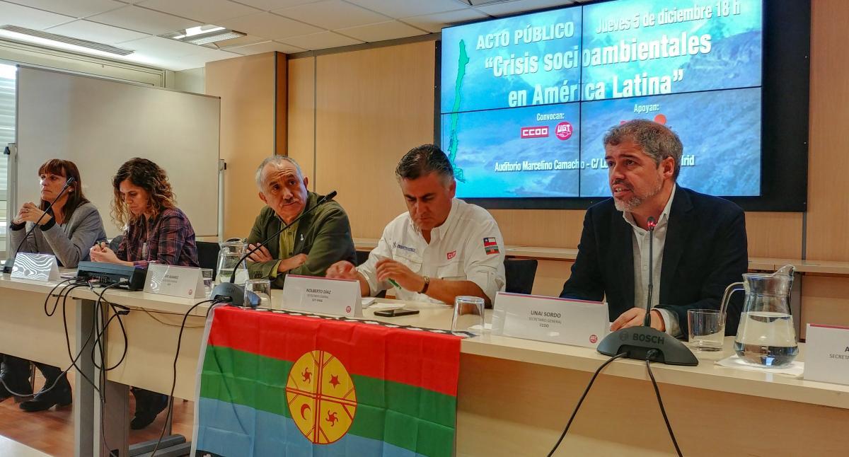 CCOO, UGT y la CUT chilena exigen que Chile deje la presidencia de la COP